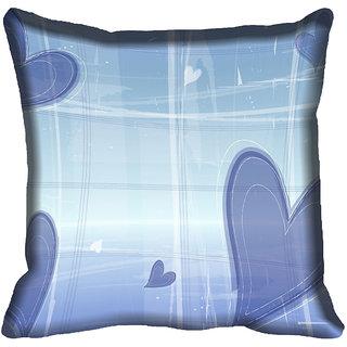 meSleep Love Digital printed Cushion Cover (20x20)