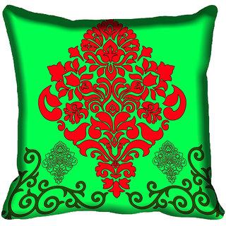 meSleep Ethnic Digital Printed Cushion Cover (12x12)