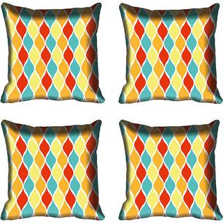 meSleep Pattern Digital Printed Cushion Cover 20x20