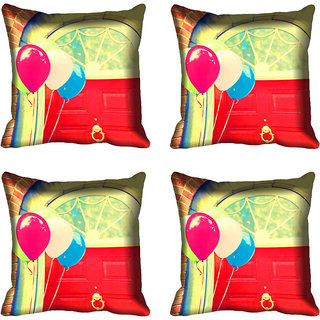 meSleep Abstract Digital Printed Cushion Cover 18x18