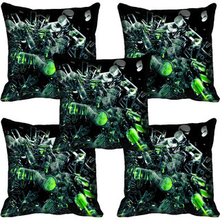 meSleep Nature Digital printed Cushion Cover (20x20)