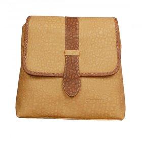 Azzra Light Cream Handbags for Girls
