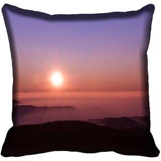 meSleep Nature Digitally Printed Cushion Cover (18x18)