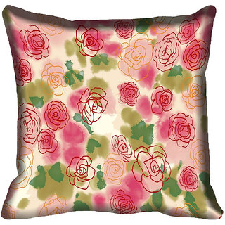 meSleep Heart Digital printed Cushion Cover (18x18)