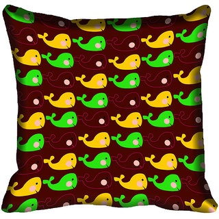 meSleep Fish Digital Printed Cushion Cover 18x18