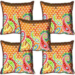 meSleep Ethnic Digital Printed Cushion Cover 20x20