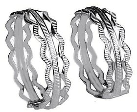 Ankit Collection Sterling Silver Toe Ring (AC247TR)
