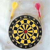 DART BOARD 6 Inches With Free 2 Darts