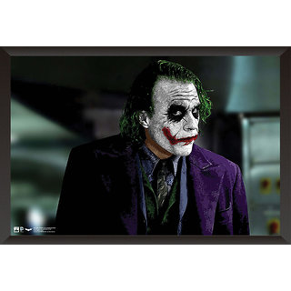 Hungover Joker Heath Ledger Special Paper Poster (12x18 Inches)