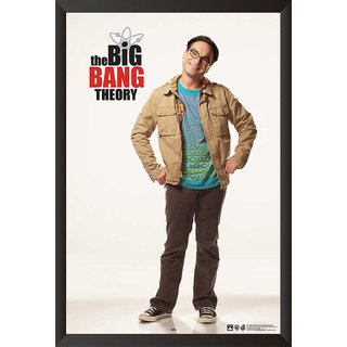 Hungover The Big Bang Theory: Leonard Special Paper Poster (12x18 Inches)
