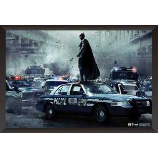 Hungover Batman The Dark Knight Rises Special Paper Poster (12x18 Inches)