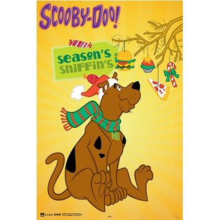 Hungover Scooby Doo Poster Official Artwork Special Paper Poster (12x18 Inches)