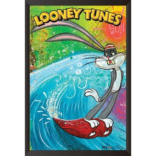 Hungover Buggs Bunny The Looney Tunes Special Paper Poster (12x18 Inches)