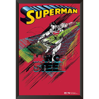 Hungover Man Of Steel Animated Special Paper Poster (12x18 Inches)