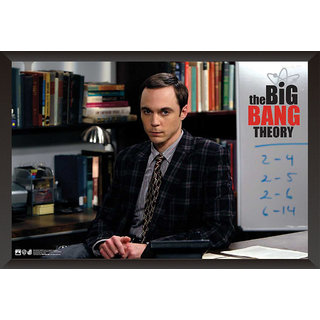 Hungover The Big Bang Theory: Sheldon Special Paper Poster (12x18 Inches)