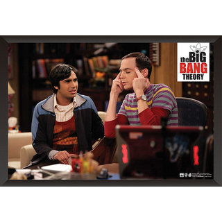 Hungover The Big Bang Theory: Sheldon  Raj Special Paper Poster (12x18 Inches)