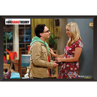Hungover The Big Bang Theory: Penny And Leonard Special Paper Poster (12x18 Inches)
