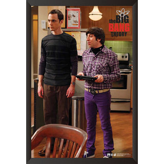 Hungover The Big Bang Theory: Sheldon  Howard Special Paper Poster (12x18 Inches)