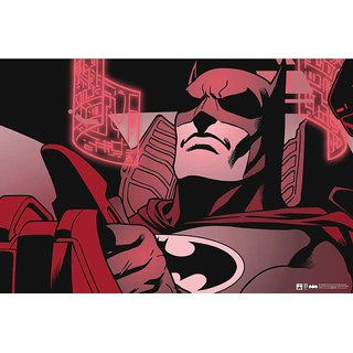 Hungover Batman Poster The Urban Legend Special Paper Poster (12x18 Inches)