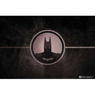 Hungover Batman Poster Special Paper Poster (12x18 Inches)