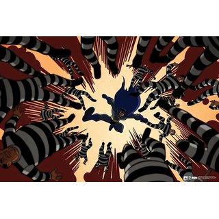 Hungover Batman Urban Legend Comics Special Paper Poster (12x18 Inches)