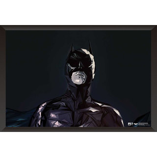 Hungover Batman The Dark Knight Comic Artwork Special Paper Poster (12x18 Inches)
