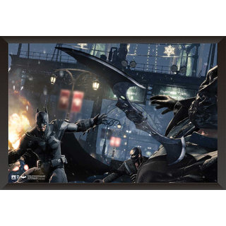 Hungover Batman Poster Arkham Knight Artwork Special Paper Poster (12x18 Inches)