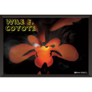 Hungover Wile E Cyote The Looney Tunes Special Paper Poster (12x18 Inches)