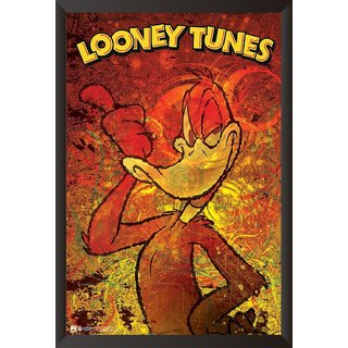 Hungover Daffy Duck The Looney Tunes Special Paper Poster (12x18 Inches)