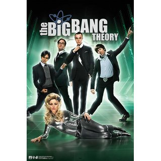 Hungover The Big Bang Theory Poster Special Paper Poster (12x18 Inches)