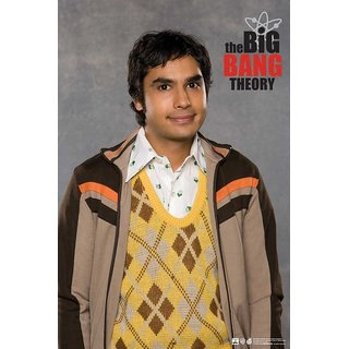 Hungover The Big Bang Theory: Raj Special Paper Poster (12x18 Inches)
