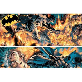 Hungover Batman Urban Legend Official Artwork Special Paper Poster (12x18 Inches)