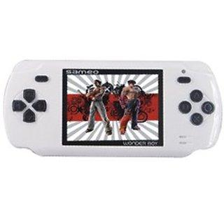 Sameo Wonder Boy 8 Bit Handheld Game New (Lotus White)