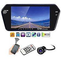 AutoStark 7 inch Car Video Monitor with USB, Bluetooth and Car Reaview Camera Chevrolet Spark