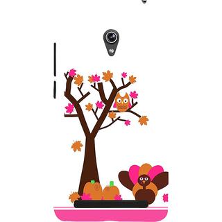 Snapdilla White Color Background Artistic Simple Plain Cartoon Mobile Case For Asus Zenfone 6 A600CG