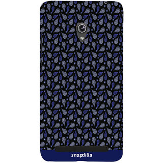 Snapdilla Modern Dark Pattern Awesome Looking Sober Trendy  Mobile Cover For Asus Zenfone 6 A600CG