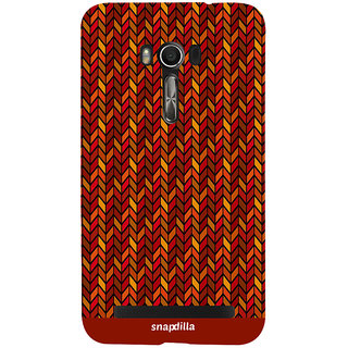 Snapdilla Simple Looking Floral Stripes Pattern Modern Cool Trendy Mobile Cover For Asus Zenfone Go ZC500TG
