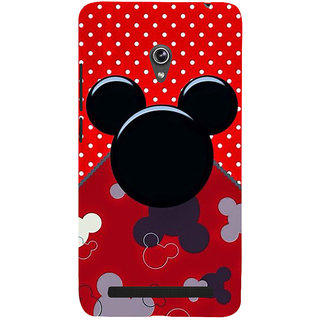Snapdilla Beautiful Trendy Cartoon Mickey Funny Phone Case For Asus Zenfone 6 A600CG