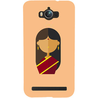 Snapdilla Light Background Artistic Traditional Woman Unique Mobile Case For Asus Zenfone Max ZC550KL :: Asus Zenfone Max ZC550KL 2016 :: Asus Zenfone Max ZC550KL 6A076IN