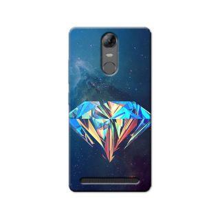 DIAMOND SPACE BACK COVER LENOVO K5 NOTE