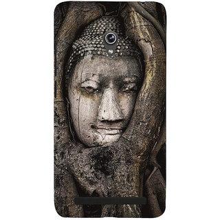 Snapdilla Devotional Spiritual Lord Gautama Buddha Religious Peaceful Mobile Cover For Asus Zenfone 6 A600CG
