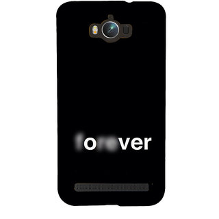 Snapdilla Black Background Over Forever Love Failure Breakup Quote Superb Branded Back Cover For Asus Zenfone Max ZC550KL :: Asus Zenfone Max ZC550KL 2016 :: Asus Zenfone Max ZC550KL 6A076IN