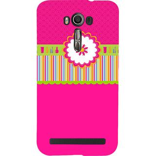 Snapdilla Lovely Pink Background Envelope Floral Pattern Perfect 3D Print Cover For Asus Zenfone 2 Laser ZE601KL