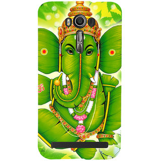 Snapdilla Spiritual Hindu Traditional Banana Leaves Ganapati Ganesha Smartphone Case For Asus Zenfone 2 Laser ZE601KL