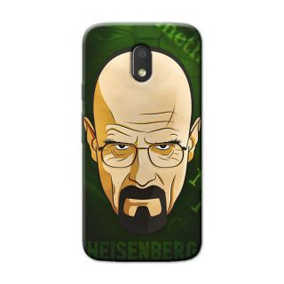 HEISENBERG BACK COVER FOR MOTOROLA MOTO E3 POWER
