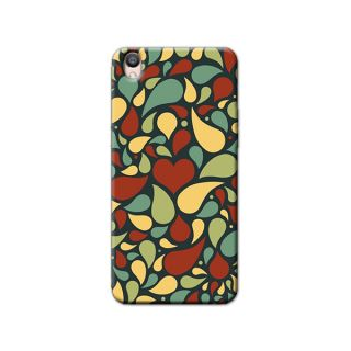 HEART SHAPES   BACK COVER FOR OPPO F1 PLUS
