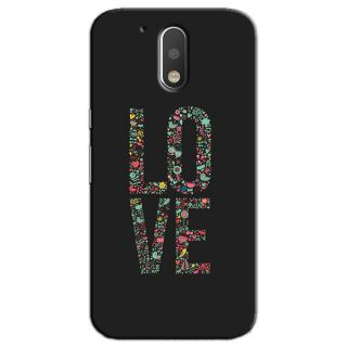 LOVE BACK COVER FOR MOTOROLA MOTO G4 PLUS