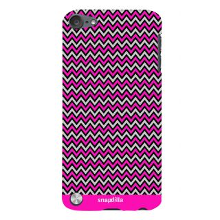 Snapdilla Simple Stylish Pink Stripes Pattern Best Cool Mobile Pouch For Apple IPod Touch 5