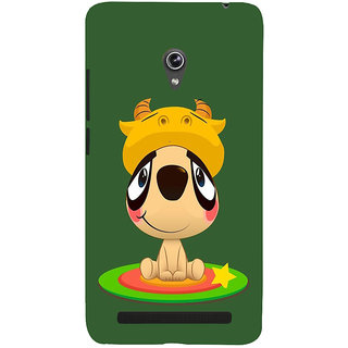 Snapdilla Artistic Modern Art Clipart Animated Cool Stylish Cell Cover For Asus Zenfone 6 A600CG