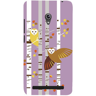 Snapdilla Classic Girly Cool Loving Owls College Girl Mobile Pouch For Asus Zenfone 6 A600CG